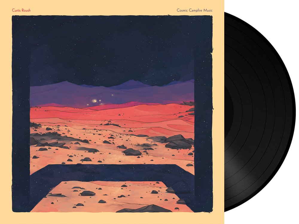 Curtis Roush - Cosmic Campfire Music Vinyl