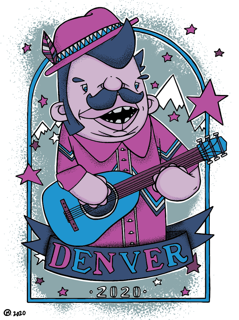 Bring Music Home - Denver Poster (PRESALE)