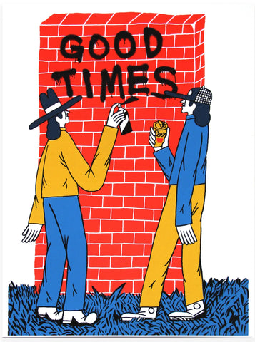 Kees Holterman - Good Times Poster