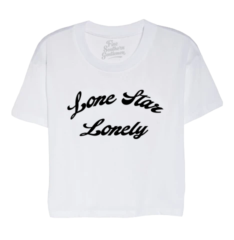 Lone Star Lonely Crop Tee