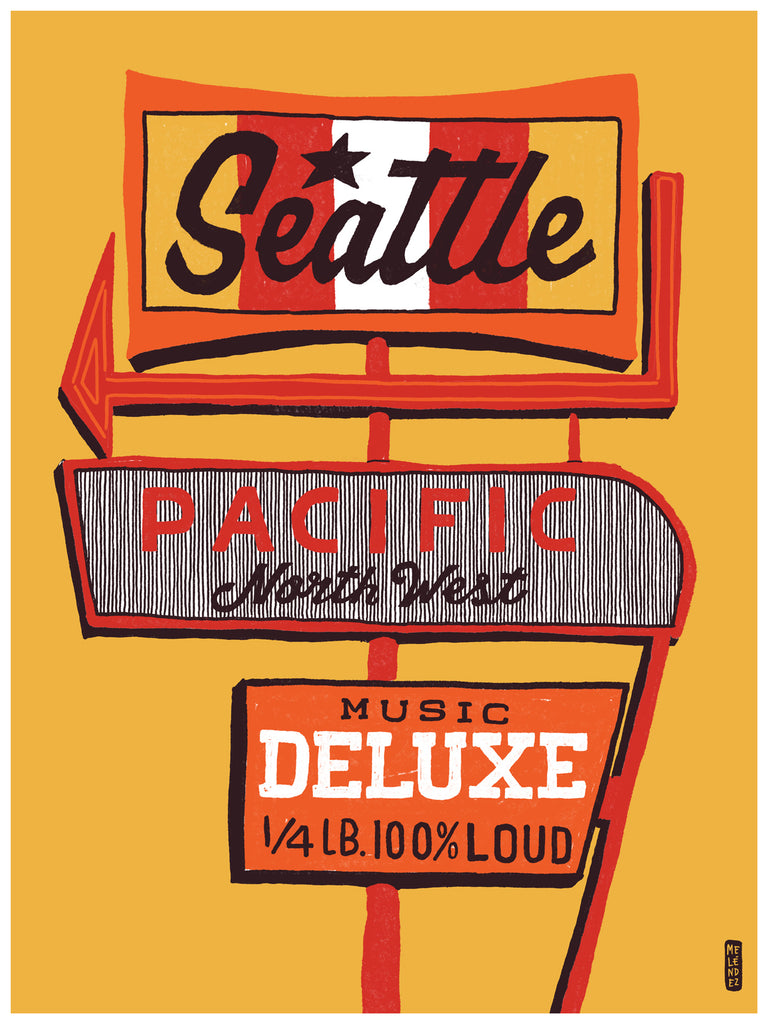 Bring Music Home - Seattle Poster (PRESALE)