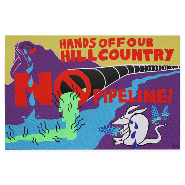 Pipeline Protest Poster