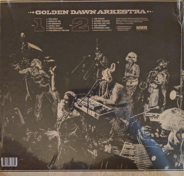 Golden Dawn Arkestra - Children Of The Sun (LP, Album) (M)