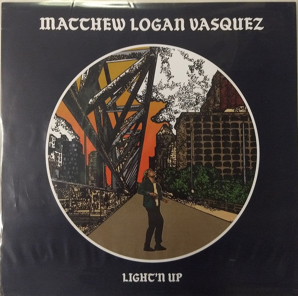 Matthew Logan Vasquez - Light'n Up (LP, Album) (NM or M-)