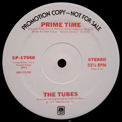"The Tubes - Prime Time / No Way Out (12"", Single, Promo) (G+)"