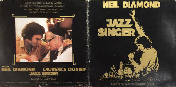 Neil Diamond - The Jazz Singer (Original Songs From The Motion Picture) (LP, Album, Gat) (G+)