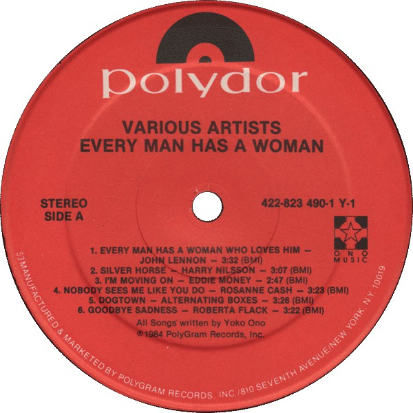 Various - Every Man Has A Woman (LP, Album) (NM or M-)