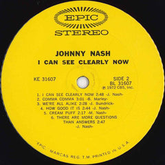 Johnny Nash - I Can See Clearly Now (LP, Album, San) (G+)