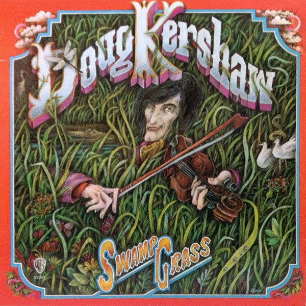 Doug Kershaw - Swamp Grass (LP, Album) (VG+)