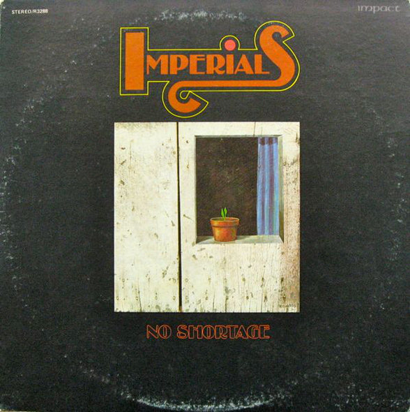Imperials - No Shortage (LP, Album) (VG)
