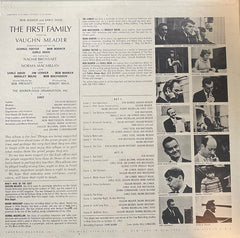 Bob Booker And Earle Doud Featuring Vaughn Meader With Earle Doud ~ Naomi Brossart ~ Bob Booker ~ Norma Macmillan - The First Family (LP) (VG)