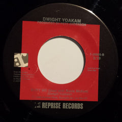 "Dwight Yoakam - It Won't Hurt (7"", Single) (VG)"