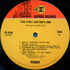 Kenny Rogers & The First Edition - The First Edition's 2nd (LP, Album, Pit) (G)