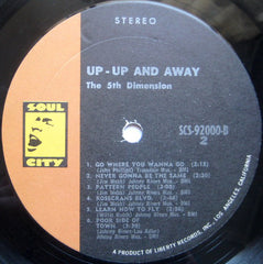 The Fifth Dimension - Up, Up And Away (LP, Album, Res) (NM or M-)