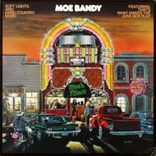 Moe Bandy - Soft Lights And Hard Country Music (LP, Album) (VG)