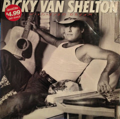 Ricky Van Shelton - Wild-Eyed Dream (LP, Album, Car) (VG)