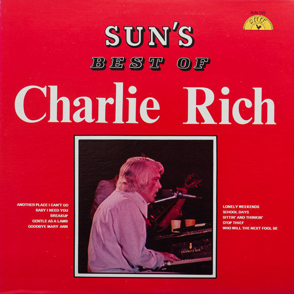 Charlie Rich - Sun's Best Of Charlie Rich (LP, Comp) (VG)
