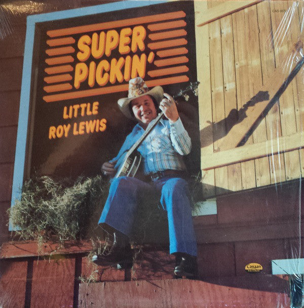 Little Roy Lewis - Super Pickin' (LP, Album) (G+)