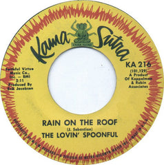 "The Lovin' Spoonful - Rain On The Roof (7"", Single) (VG)"