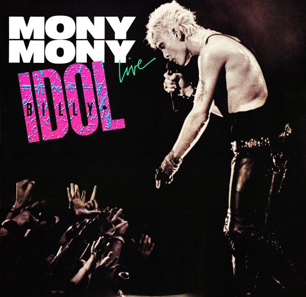 "Billy Idol - Mony Mony (Live) (7"", Single, Styrene, Car) (G+)"