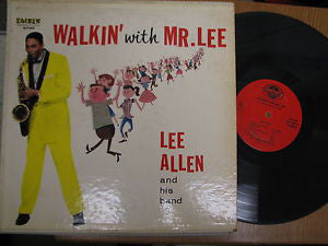 Lee Allen & His Band - Walkin' With Mr. Lee (LP, Mono) (G+)