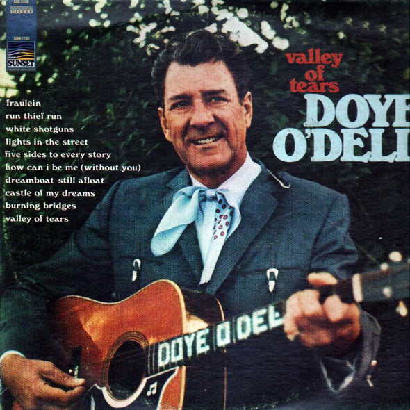 Doye O'Dell - Valley Of Tears (LP, Album) (VG)