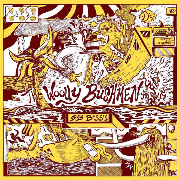 The Woolly Bushmen - Sky Bosses (LP, Album) (M)