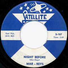 "The Mar-Keys - Last Night (7"", Single) (VG)"