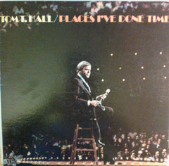 Tom T. Hall - Places I've Done Time (LP, Album) (VG)