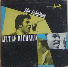 Little Richard - The Fabulous Little Richard (LP, Album) (G+)