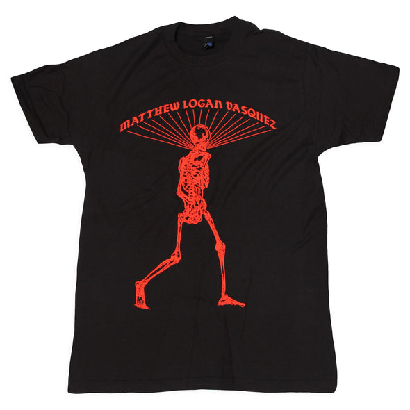 Matthew Logan Vasquez - Red Skeleton Tee
