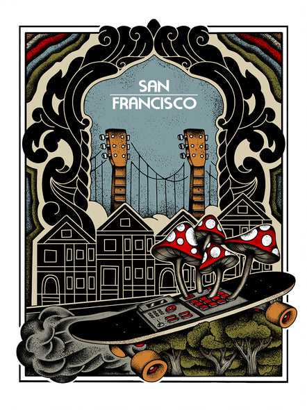 Bring Music Home - San Francisco Poster (PRESALE)