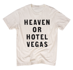 Heaven Or Hotel Vegas - Natural Tee