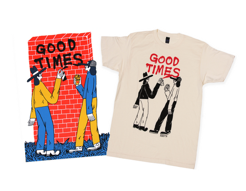 Kees Holterman - Good Times Shirt & Poster