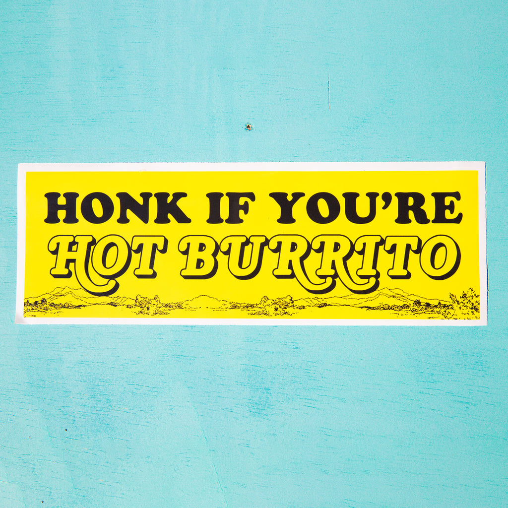 Hot Burrito Bumper Sticker