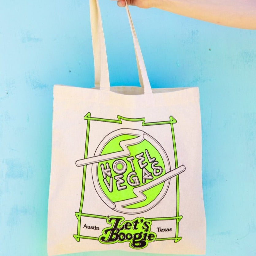 Hotel Vegas - Let's Boogie Tote Bag