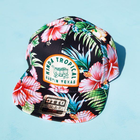 Kinda Tropical Floral Hat - PREORDER