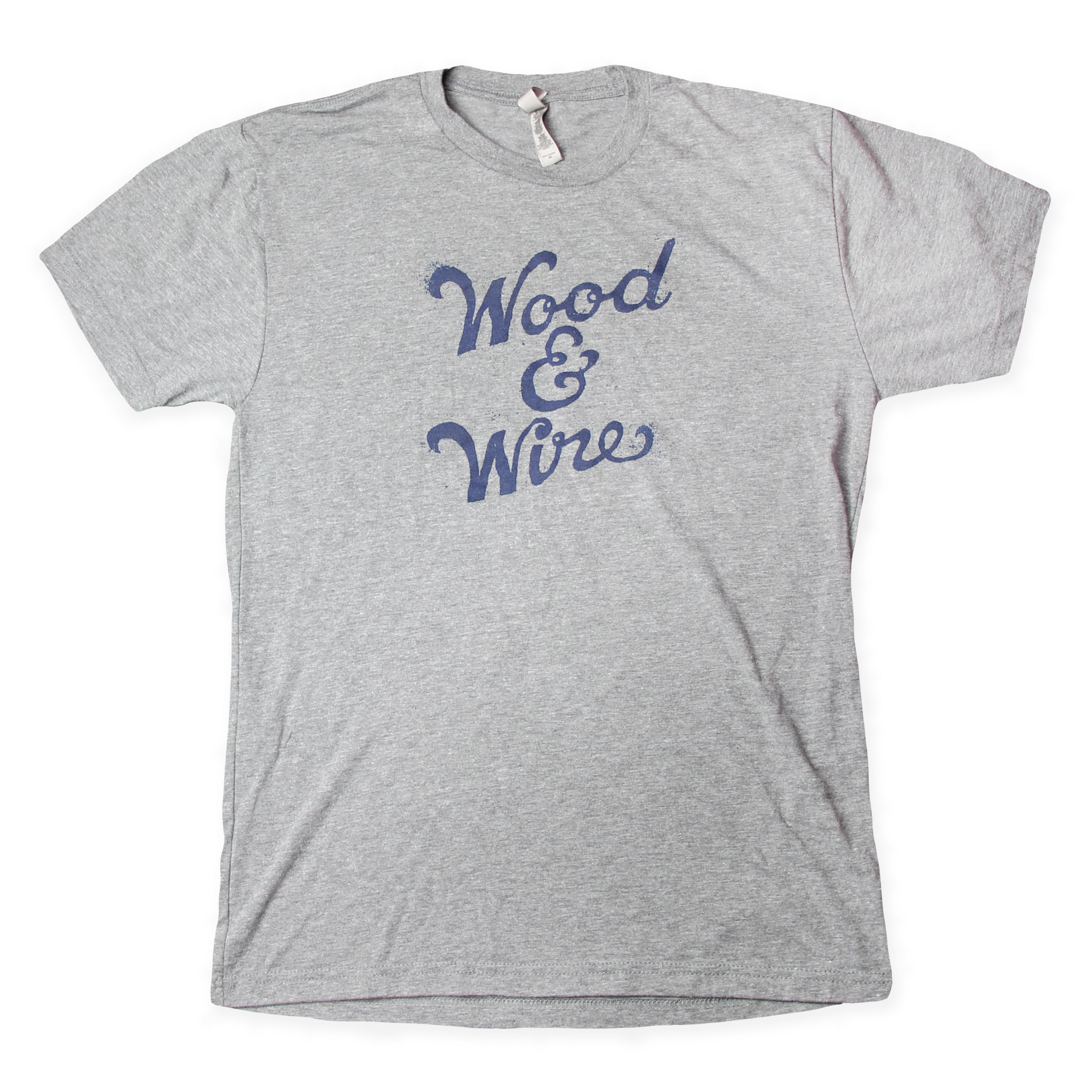 Wood & Wire - Logo Tee - Grey