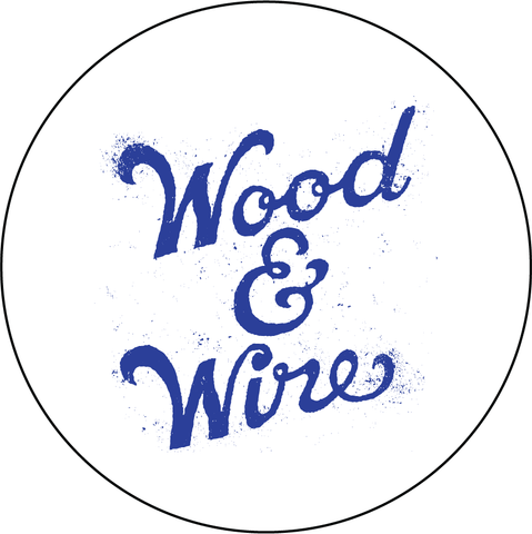 Wood & Wire - Logo Decal