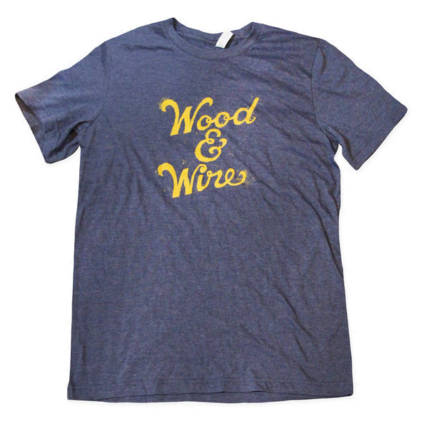 Wood & Wire - Logo Tee - Navy