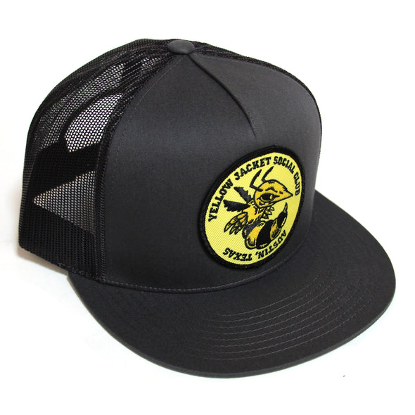 Yellow Jacket - Charcoal Trucker Hat