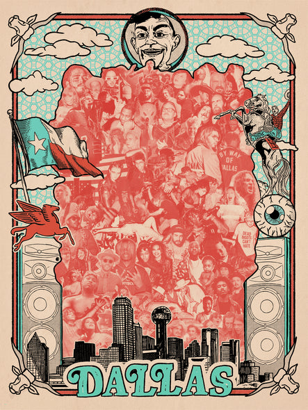 Bring Music Home - Dallas Poster