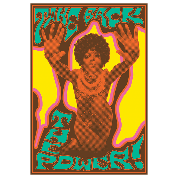 The Electric Church - Take Back The Power Poster