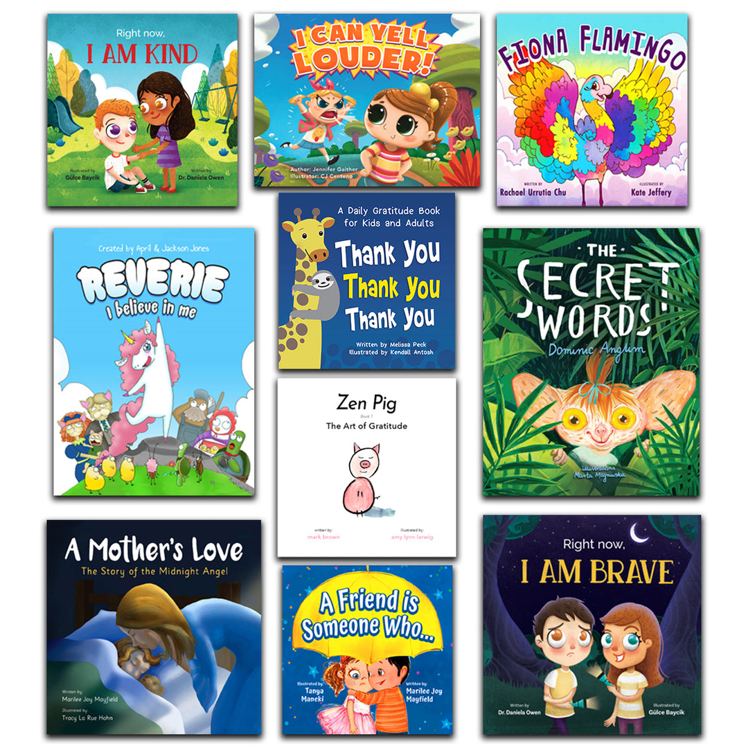 The Gratitude Bundle (10 Books)