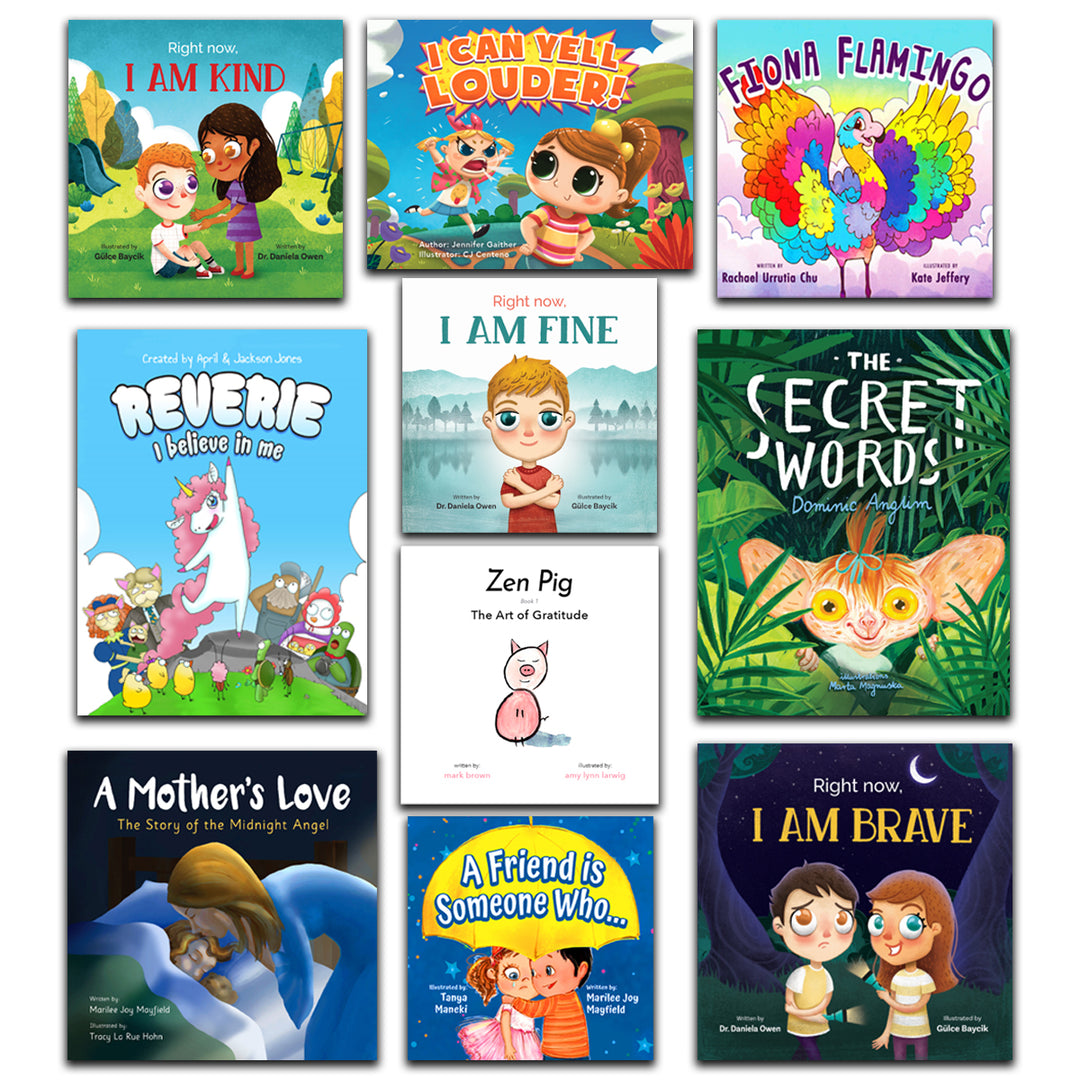 Emotional Learning Bundle (10 Books)