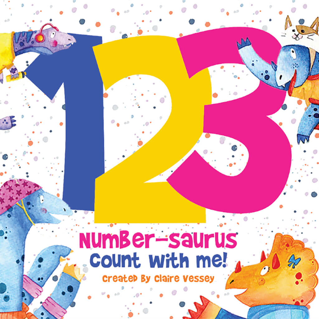 123 Number-saurus Count with Me!