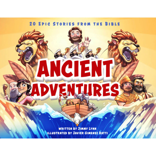 (NEW) Ancient Adventures: 20 Epic Stories from the Bible