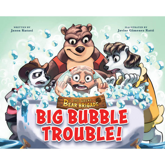 The Great Bear Brigade: Lost in the Woods + Big Bubble Trouble (2 Books)