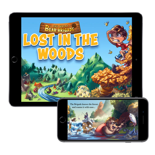 The Great Bear Brigade: Lost in the Woods (Digital E-Book)