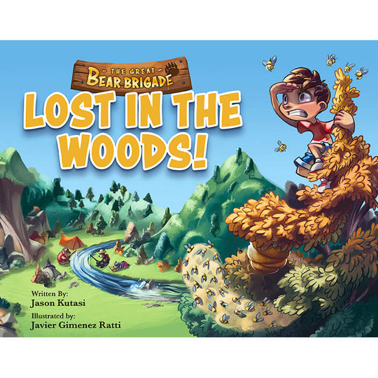 The Great Bear Brigade: Lost in the Woods + Big Bubble Trouble + Super Sweet Surprise (3 Book Bundle)